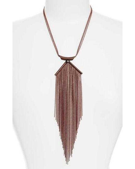 Karine Sultan - Multicolor Lina Waterfall Necklace - Lyst
