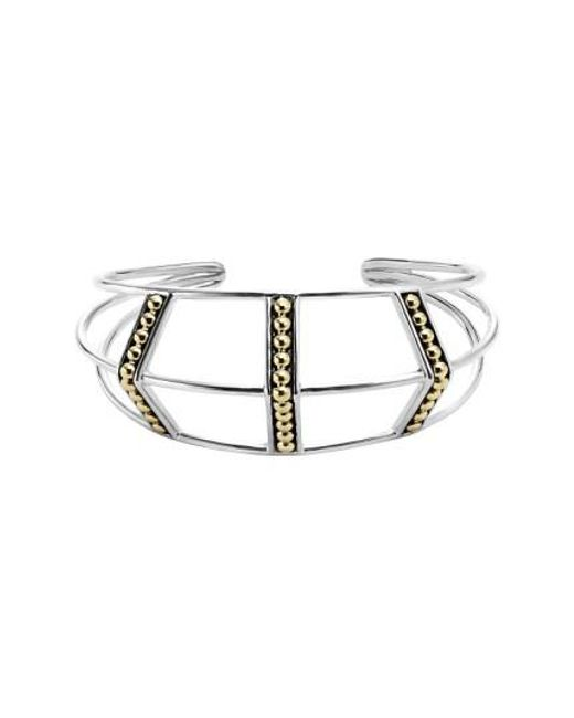 Lagos - Metallic 'ksl' Pyramid Wrist Cuff - Lyst
