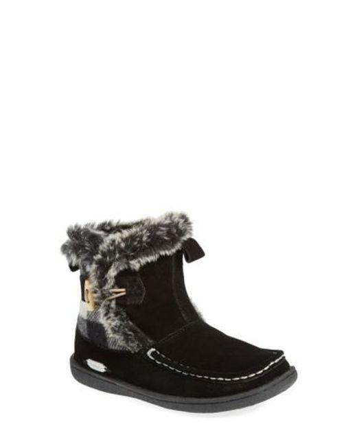 Woolrich | Black 'pine Creek' Boot | Lyst