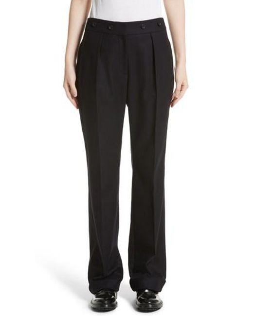Belstaff | Black Maria Wool Blend Pants | Lyst