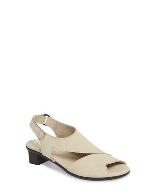 Arche Women's Obibbi Asymmetrical Slingback Sandal eKrPbUKh
