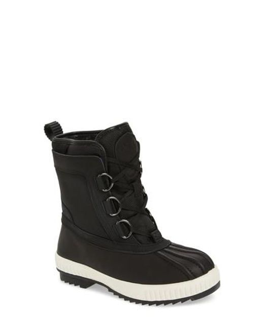 Pajar | Black Kai Waterproof Insulated Winter Duck Boot | Lyst
