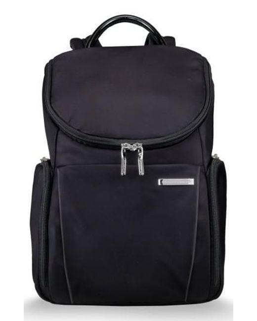 Briggs & Riley - Blue Sympatico Nylon Backpack - Lyst