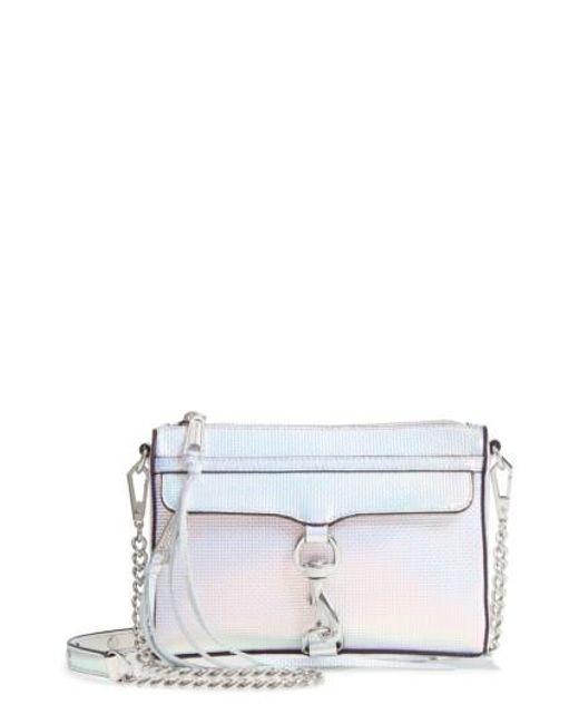 Rebecca Minkoff | Black 'mini Mac' Convertible Crossbody Bag | Lyst