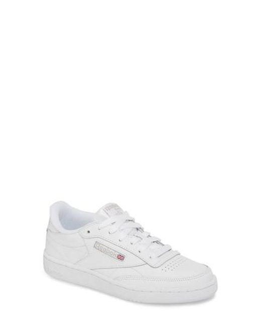 Reebok - Gray Club C 85 Sneaker - Lyst