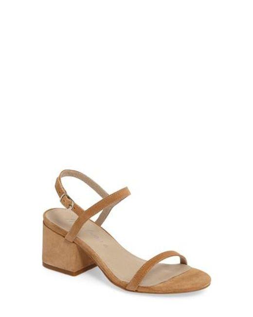 Matisse | Natural Stella Block Heel Sandal | Lyst
