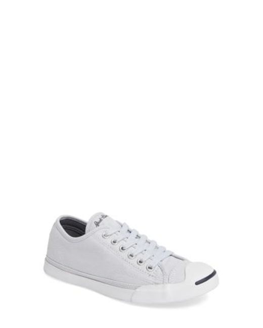 Converse   White Jack Purcell Signature Ox Low Top Sneaker   Lyst