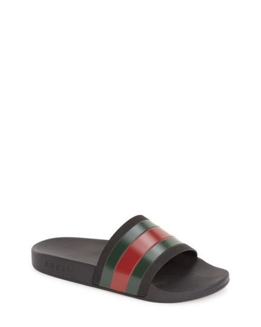 Gucci Pursuit Logo Slides lwMFFKkN