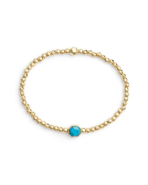 Gorjana - Metallic Power Gemstone Beaded Bracelet - Lyst