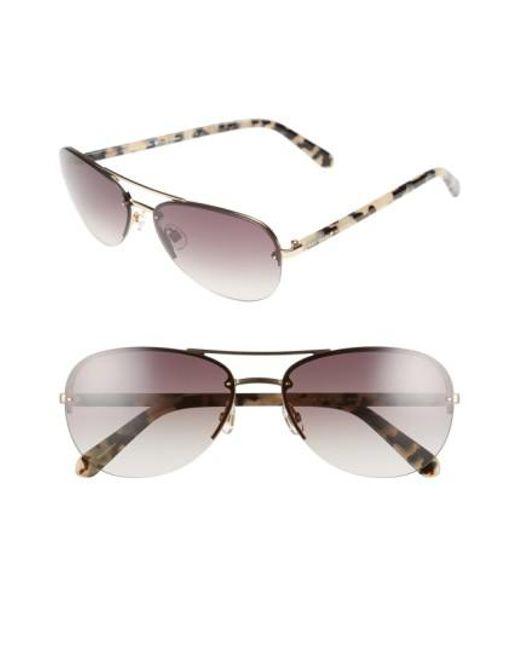 Kate Spade | Pink 'beryls' 59mm Sunglasses | Lyst