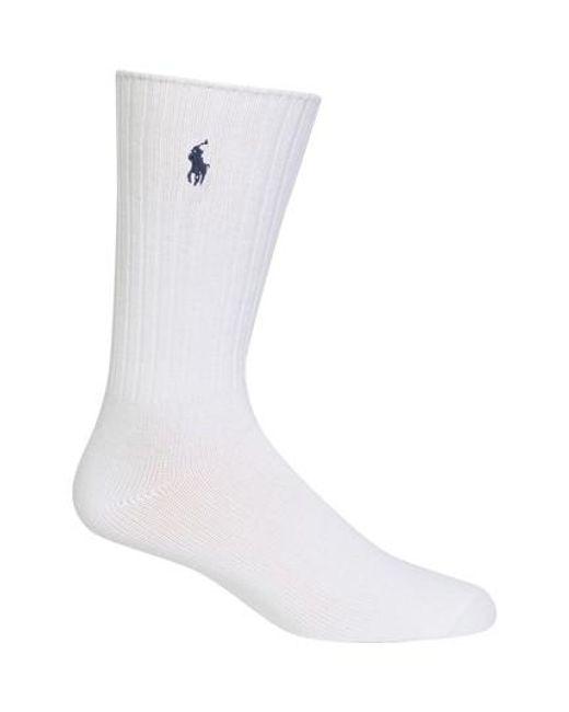Polo Ralph Lauren | White Crew Socks for Men | Lyst