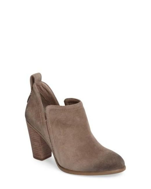 Vince Camuto | Brown Francia Bootie | Lyst