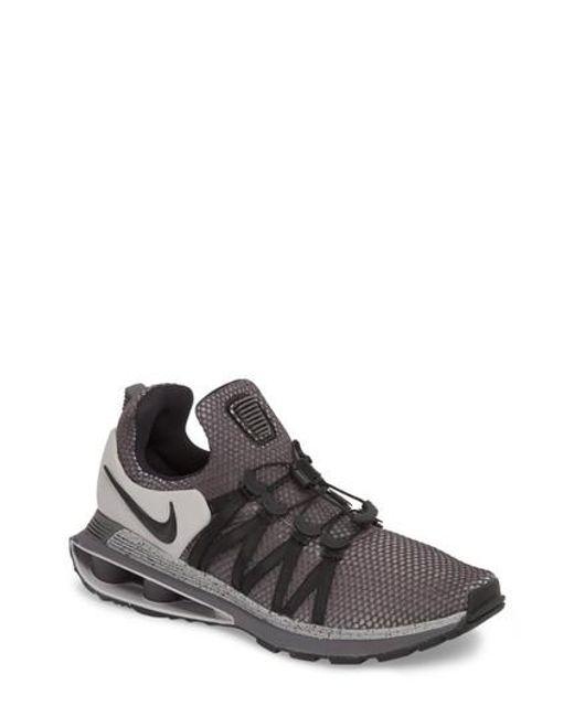Nike - Gray Shox Gravity Sneaker for Men - Lyst