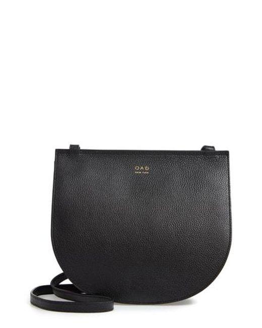OAD NEW YORK - Brown Luna Leather Crossbody Bag - - Lyst
