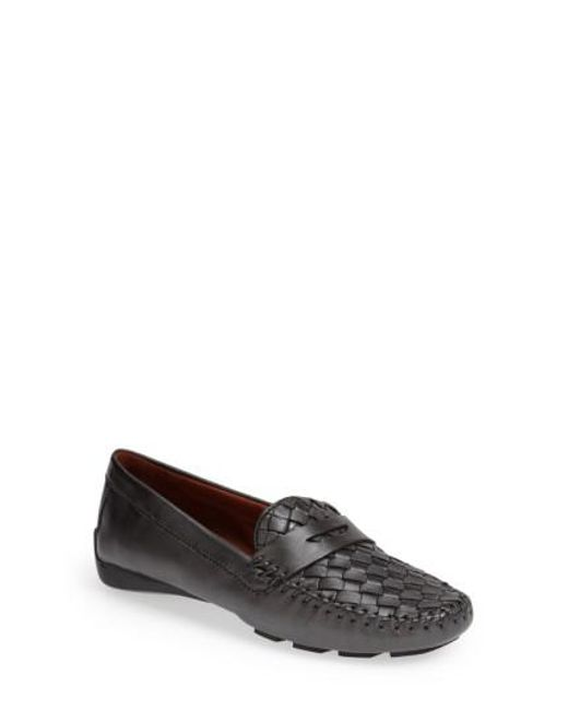 Robert Zur | Metallic 'petra' Driving Shoe | Lyst