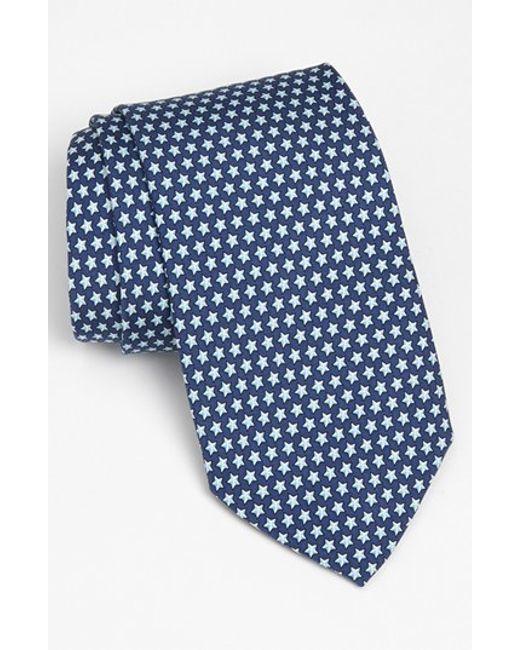 Vineyard Vines | Blue 'stars' Silk Tie for Men | Lyst