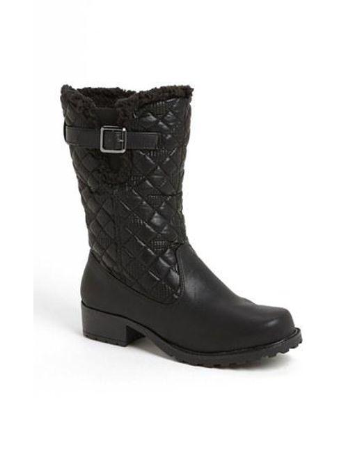Trotters | Black 'blizzard Iii' Boot | Lyst