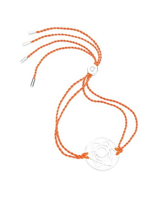 Daisy London | Pink 'sacral Chakra' Cord Bracelet | Lyst