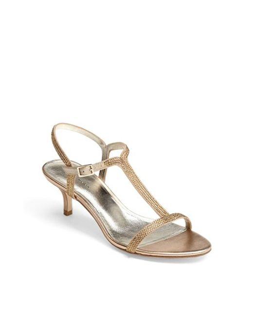 Pelle Moda   Metallic 'fact' Sandal   Lyst