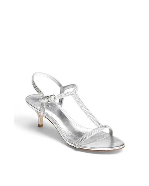 Pelle Moda | Metallic 'fact' Sandal | Lyst
