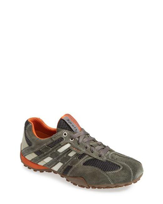 Geox | Gray 'uomo Snake 94' Sneaker for Men | Lyst
