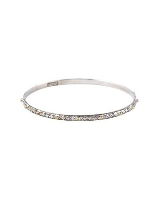 Konstantino | Metallic 'classics' Two-tone Bangle | Lyst