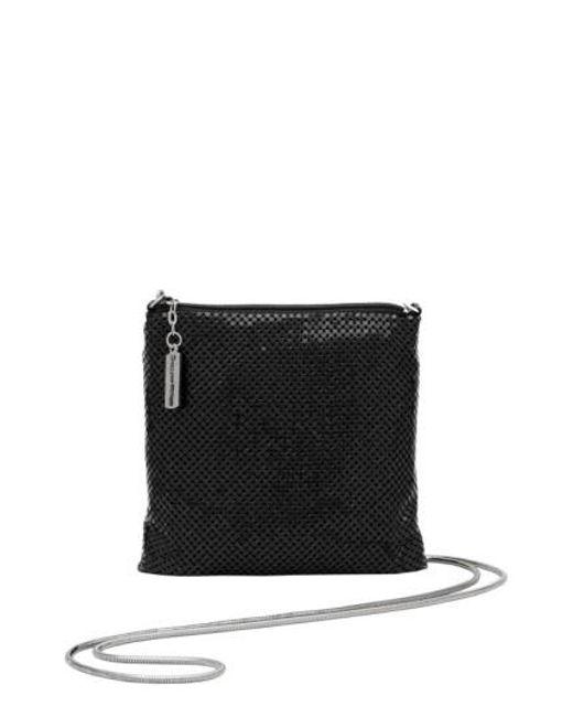 Whiting & Davis | Black Crossbody Bag | Lyst
