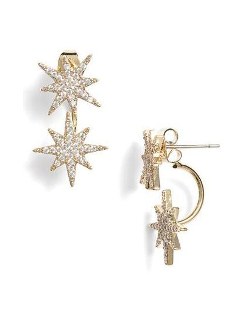 Serefina | Metallic Small Starburst Ear Jackets | Lyst