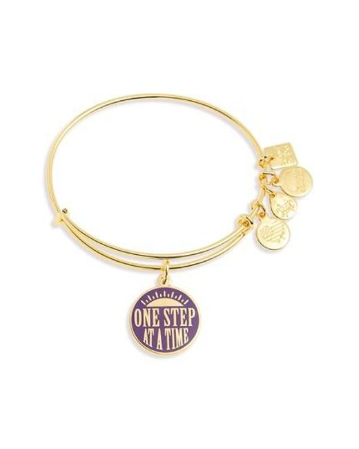 ALEX AND ANI - Metallic Kindred One Step At A Time Bangle - Lyst