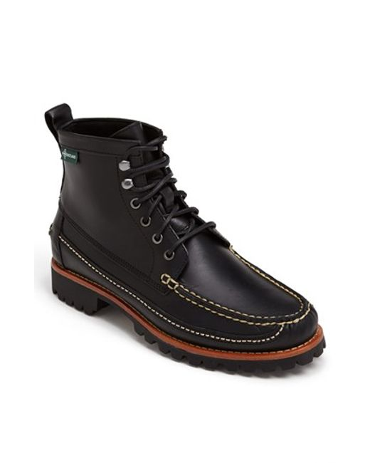 Eastland | Black 'franconia 1955' Moc Toe Boot for Men | Lyst