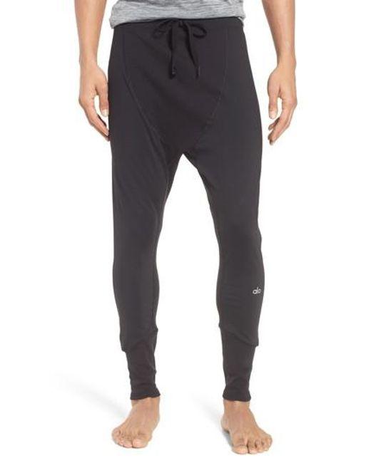 Alo Yoga Rebel Jogger Pants In Black For Men