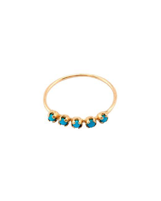Loren Stewart - Metallic Turquoise Cinq Ring - Lyst