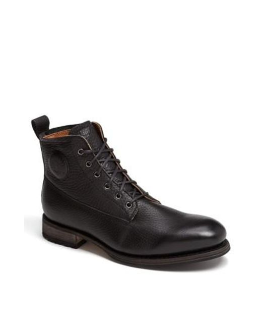 Blackstone | Black 'gm 09' Plain Toe Boot for Men | Lyst