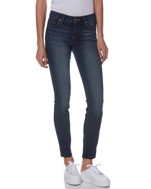 PAIGE - Blue 'transcend - Verdugo' Ankle Skinny Jeans - Lyst