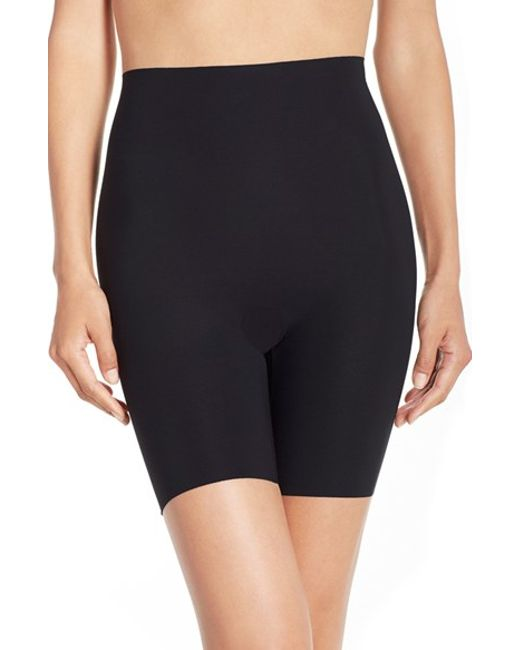 Commando | Black 'control' High Waist Shaping Shorts | Lyst