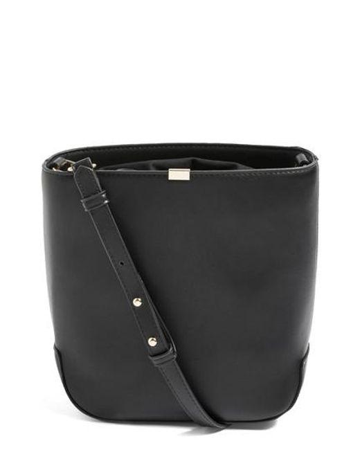 TOPSHOP - Black Romy Bucket Shoulder Handbag - Lyst