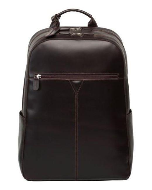 Johnston & Murphy - Black Leather Backpack - Lyst