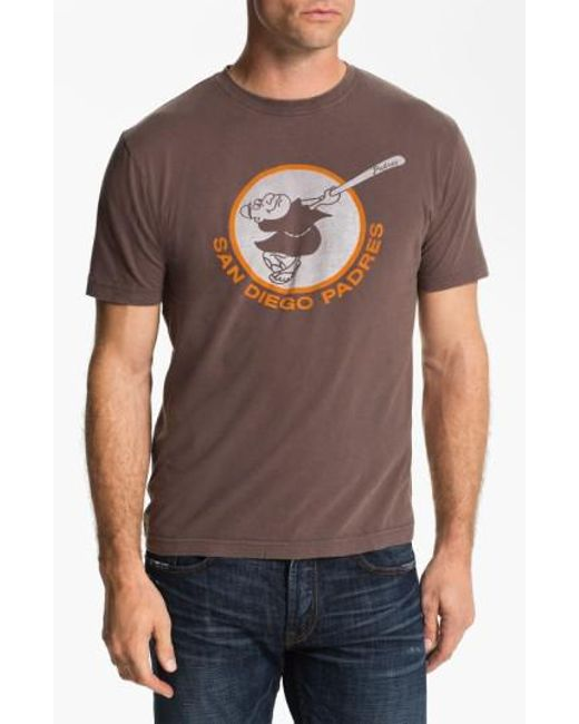Red Jacket | Brown 'san Diego Padres' Trim Fit T-shirt for Men | Lyst