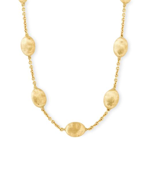 Marco Bicego - Yellow 'siviglia' Station Necklace - Lyst