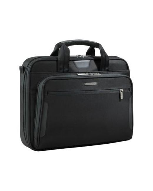 Briggs & Riley | Black 'medium Slim' Ballistic Nylon Briefcase for Men | Lyst