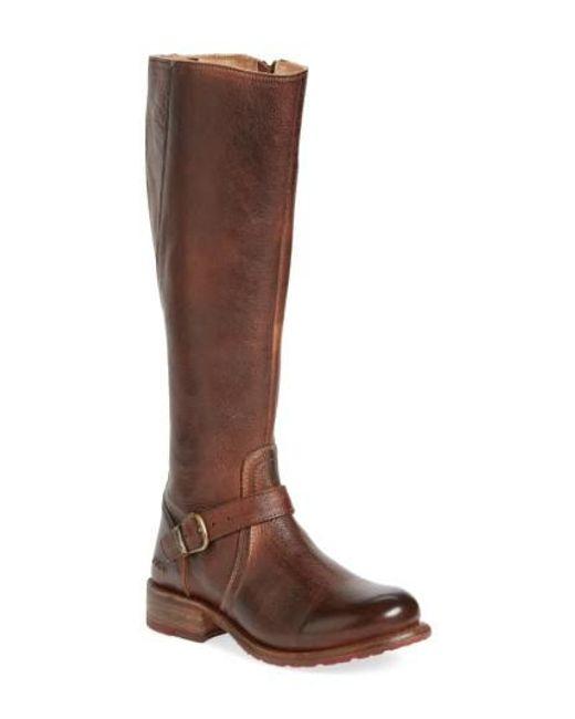 Bed Stu - Black 'Glaye' Tall Boot - Lyst