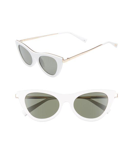 Le Specs - Multicolor Enchantress 50mm Cat Eye Sunglasses - - Lyst