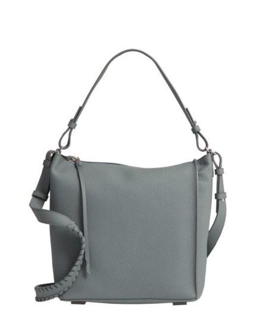 AllSaints | Blue 'kita' Leather Shoulder/crossbody Bag | Lyst
