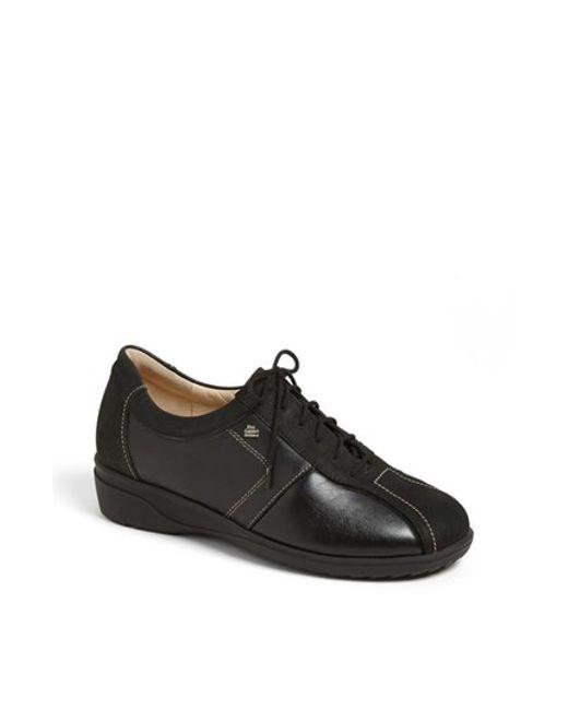 Finn Comfort | Black 'ostende' Flat | Lyst