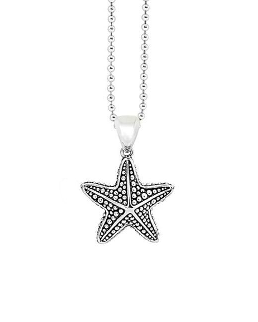 Lagos | Metallic 'rare Wonders - Starfish' Long Talisman Necklace | Lyst