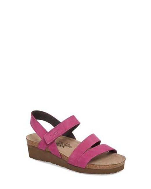 Naot | Brown 'kayla' Sandal | Lyst