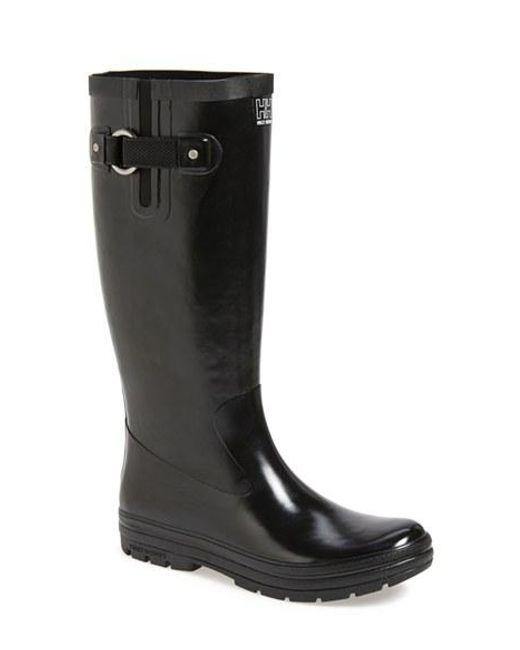 Helly Hansen | Black 'veierland' Rain Boot | Lyst