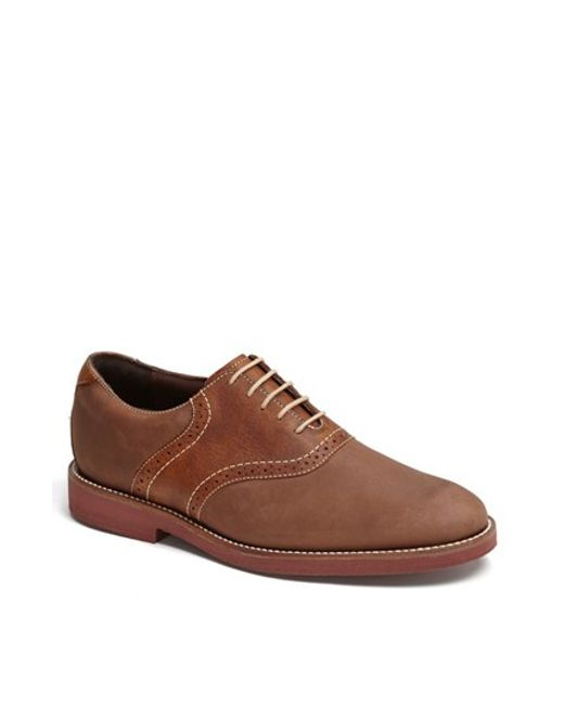 Neil M | Brown 'stanford' Saddle Shoe for Men | Lyst