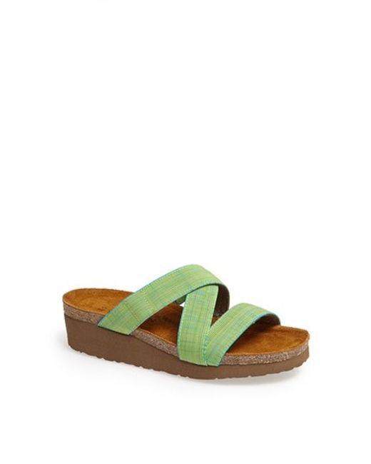 Naot   Green 'naomi' Sandal   Lyst