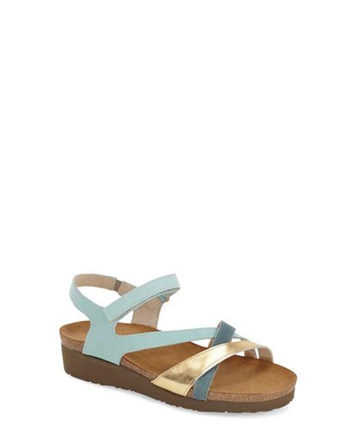 Naot | Brown 'sophia' Sandal | Lyst